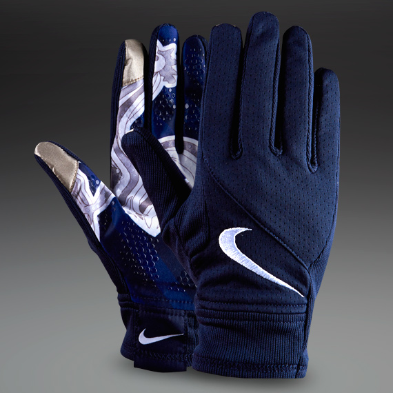 Nike France Stadium Gloves - Football Clothing Accessories - Blue-Blue