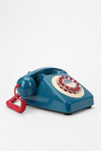 Mod Push-Dial Telephone - Urban Outfitters