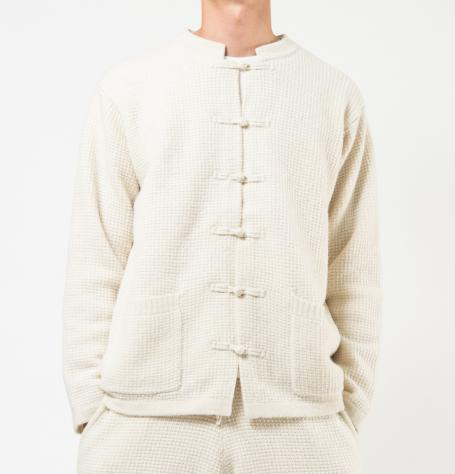 Alpaca china sweter(BEIGE) - SON OF THE CHEESE ONLINE SHOP