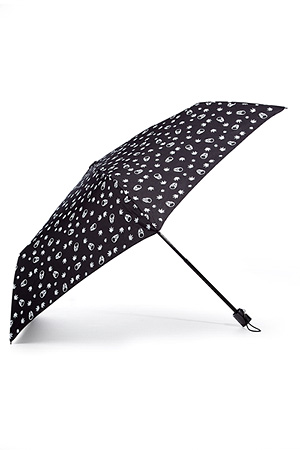 STYLEBOP.com | Black/White Monogram Umbrella by LUCIEN PELLAT-FINET | the latest trends from the fashion capitals of the world