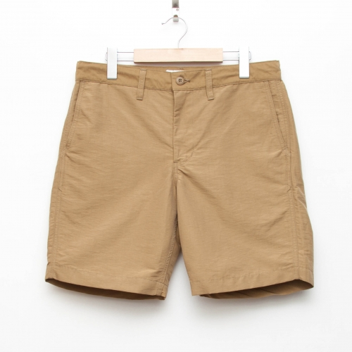 Cotton/Nylon Short Pants - Khaki - cup and cone WEB STORE