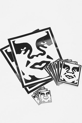 OBEY Sticker Pack - Urban Outfitters