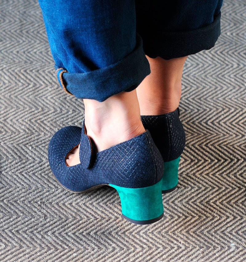 HARZA NAVY :: SHOES :: CHIE MIHARA SHOP ONLINE