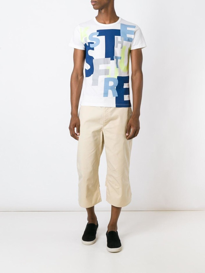 Walter Van Beirendonck Vintage クロップドパンツ - House Of Liza - Farfetch.com