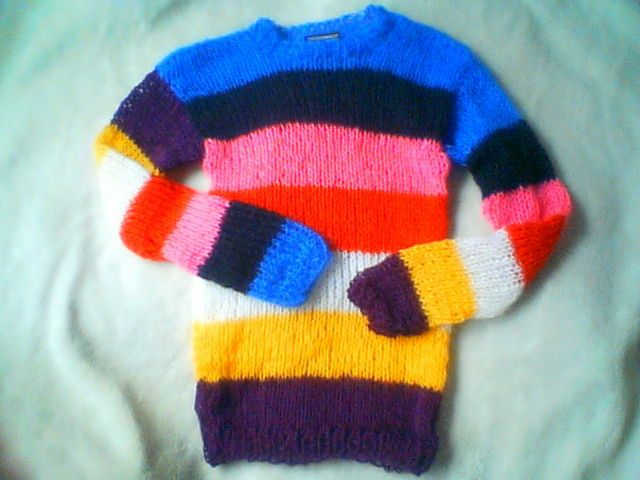 colourful jumpers 2011/2012