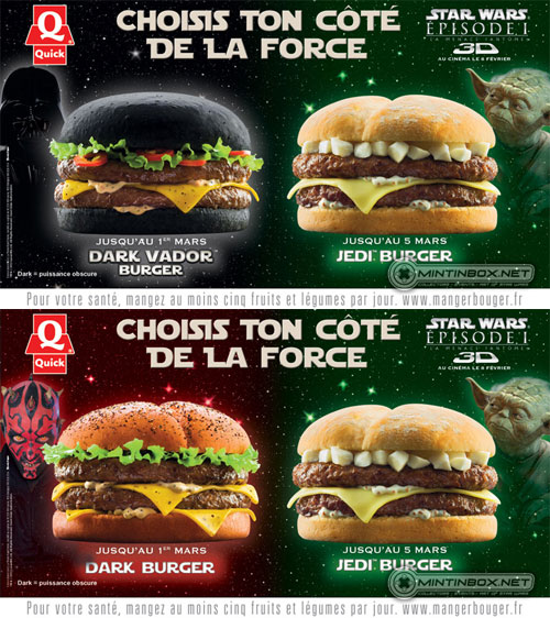 Reality Check: Star Wars Burgers from Quick in France | A Hamburger Today