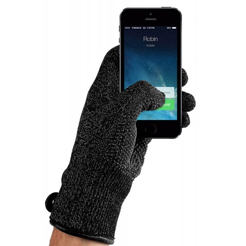 Double-Layered Touchscreen Gloves, winter gloves for touch screens e.g. iPhone and Galaxy by Mujjo