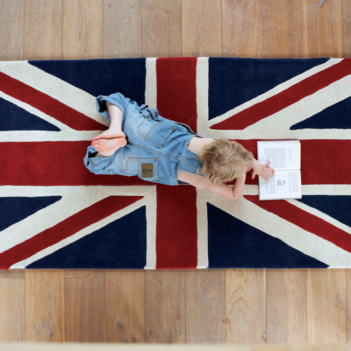 Union Jack Rug — Cox & Cox, the difference between house and home.