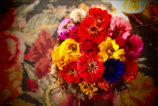 colorful, cheerful : ) | The Little Shop of Flowers