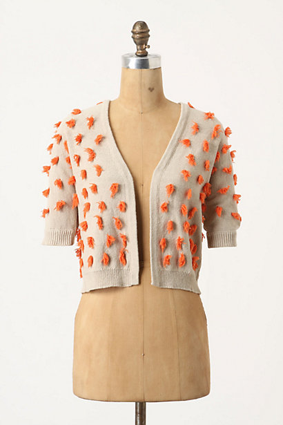 Tufted Dots Sweater - Anthropologie.com