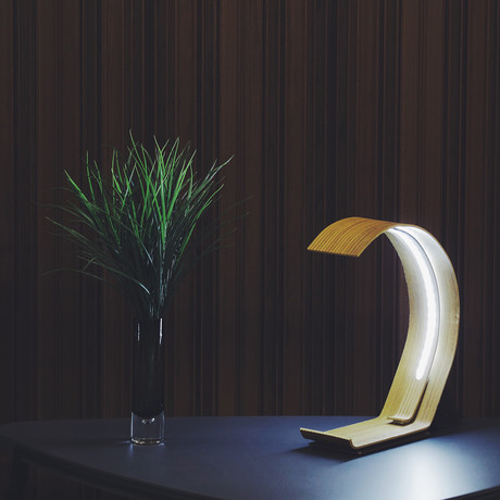 LED Table Lamp // Grey - ARCHILAMP - Touch of Modern