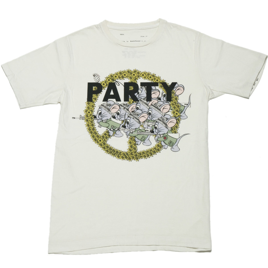 Party Tee col.Wht
