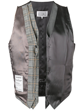 Re-edition deconstructed waistcoat
