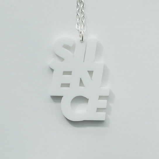 SILENCE_necklace | this_is_help!