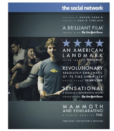 Amazon.com: The Social Network (Two-Disc Collector's Edition) [Blu-ray]: Jesse Eisenberg, Andrew Garfield, Justin Timberlake, Armie Hammer, Brenda Song, Rooney Mara, David Fincher: Movies & TV