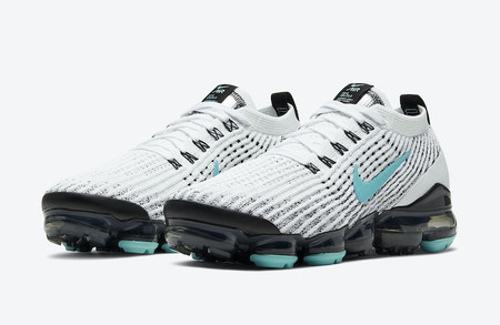 Air VaporMax 3.0 - White/Black/Teal