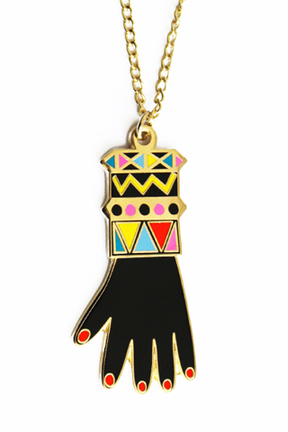 LAZY OAF JAZZY HAND NECKLACE - Fabfive(ファブファイブ)