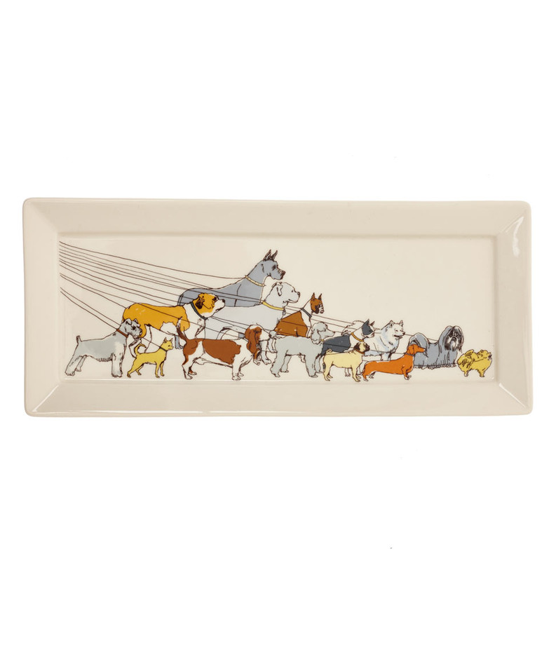 Ceramic Dog Walker Tray, Fishs Eddy. Shop more from the Fishs Eddy collection online at Liberty.co.uk.