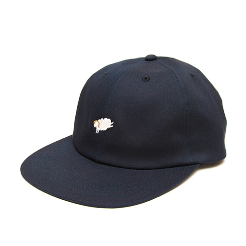 6 Panel Cap - Navy - cup and cone WEB STORE