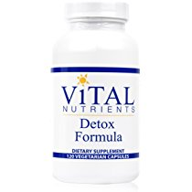Vital Nutrients - Detox Formula - Specially Designed Formula for Liver and Detoxification Support - 120 Capsules