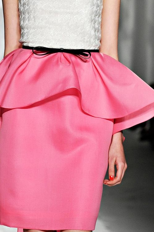 The Peplum / Jason Wu . Spring 2012 | Keep the Glamour | BeStayBeautiful