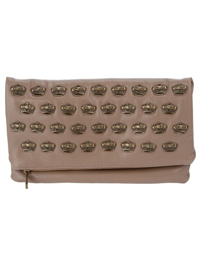Mia Bag Studded Clutch - Tessabit - farfetch.com