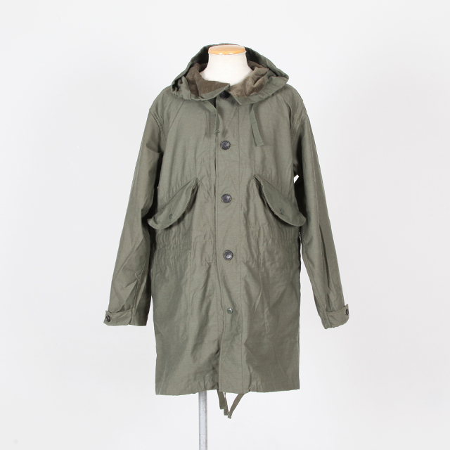 Engineered Garments Highland Parker - NYCO Reversed Sateen - Silver and Gold Online Store