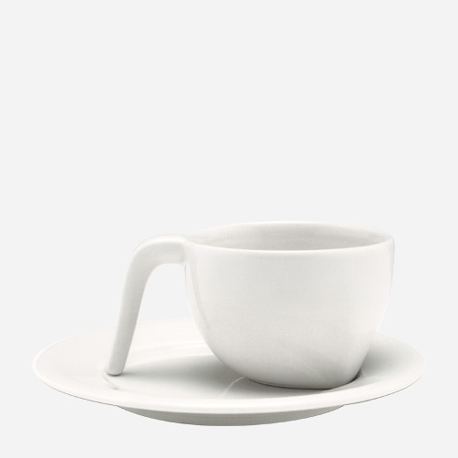 Iittala - Products - Drinking - Hot drinks - Breakfast cup 0.4 L and saucer 19 cm