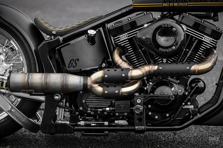 Salt Flat Dreams: MB Cycles' S&S-powered Softail | Bike EXIF