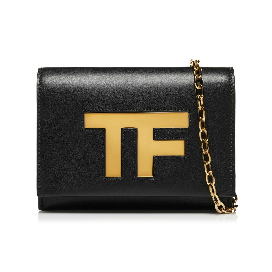 Icon Leather Evening Bag - Tom Ford