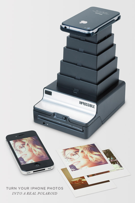 Impossible Instant Lab: Turn iPhone Images into Real Photos by The Impossible Project — Kickstarter