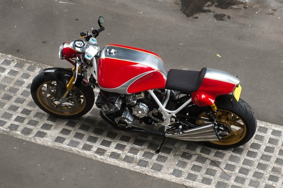 Honda CBX RAW Cafe Racer ~ Return of the Cafe Racers