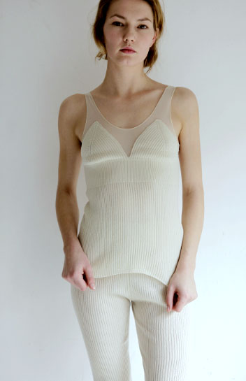 babaco<br>CASHMERE SILK&TULLE TANK TOP<br>ババコ<br>カシミヤシルク チュールタンクトップ | ●babaco | | Lilly del Salone