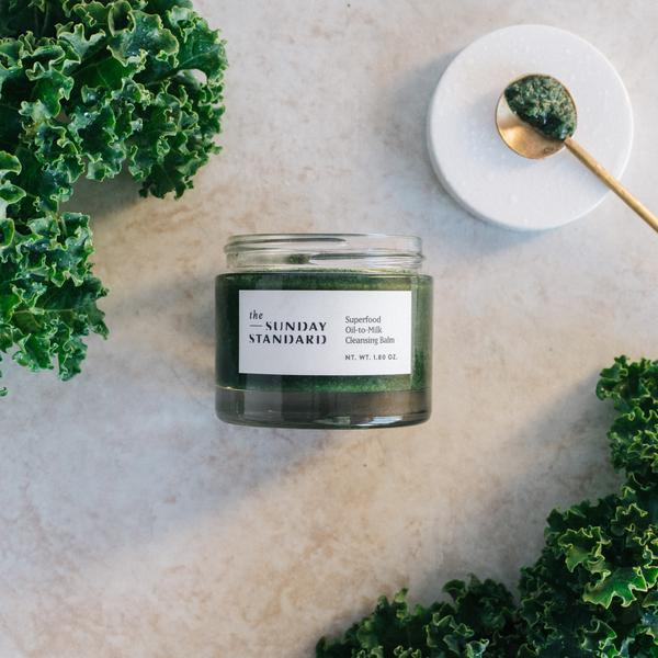 Superfood Oil-to-Milk Cleansing Balm   Natural Face Wash for Acne – The Sunday Standard