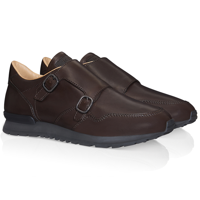 Monk-Strap Shoes in Leather XXM0XG0N540DVRS800, Sneakers, Shoes, Fall-Winter, Shop Man - Tod's