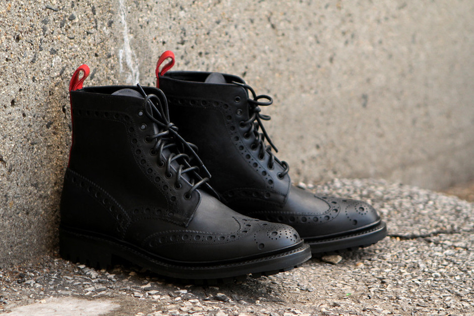 RF X GRENSON Fred - Black | Boot | Kith NYC