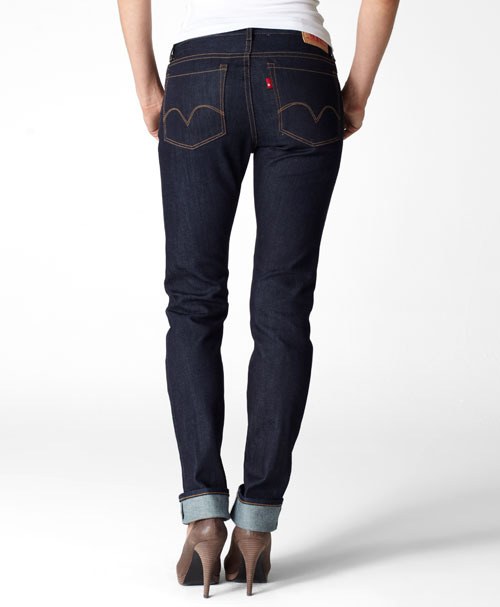 Levi's Made in the USA Selvedge Stretch Skinny - Rinse - Jeans By Rise