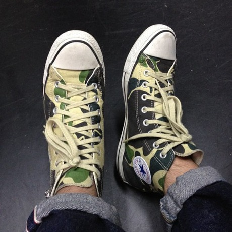 Converse All Star Camo coming soon...? : SKOOL OF DAZE