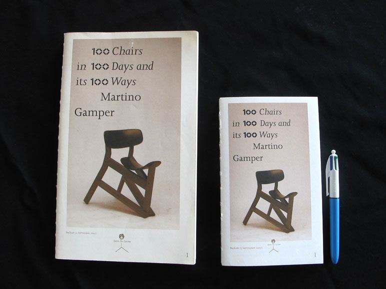 100 Chairs in 100 Days and its 100 Ways (POCKET VERSION) | Dent-De-Leone