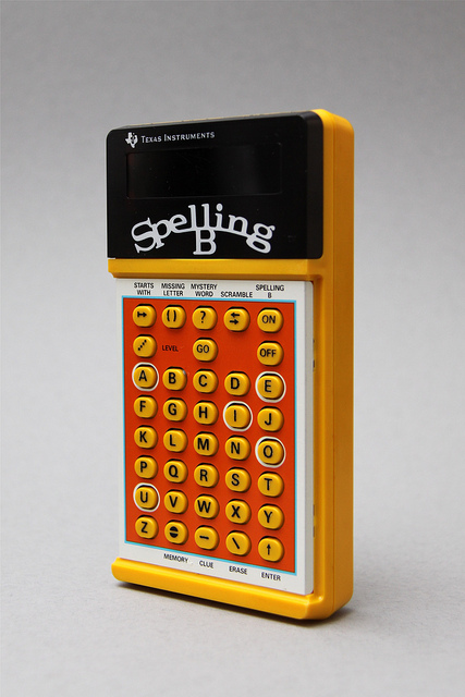 Spelling B, Texas Instruments circa 1970's | Flickr - Photo Sharing!