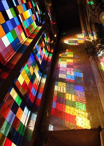 Stained Glass / Gerhard Richter, Cologne Cathedral Stained Glass Window