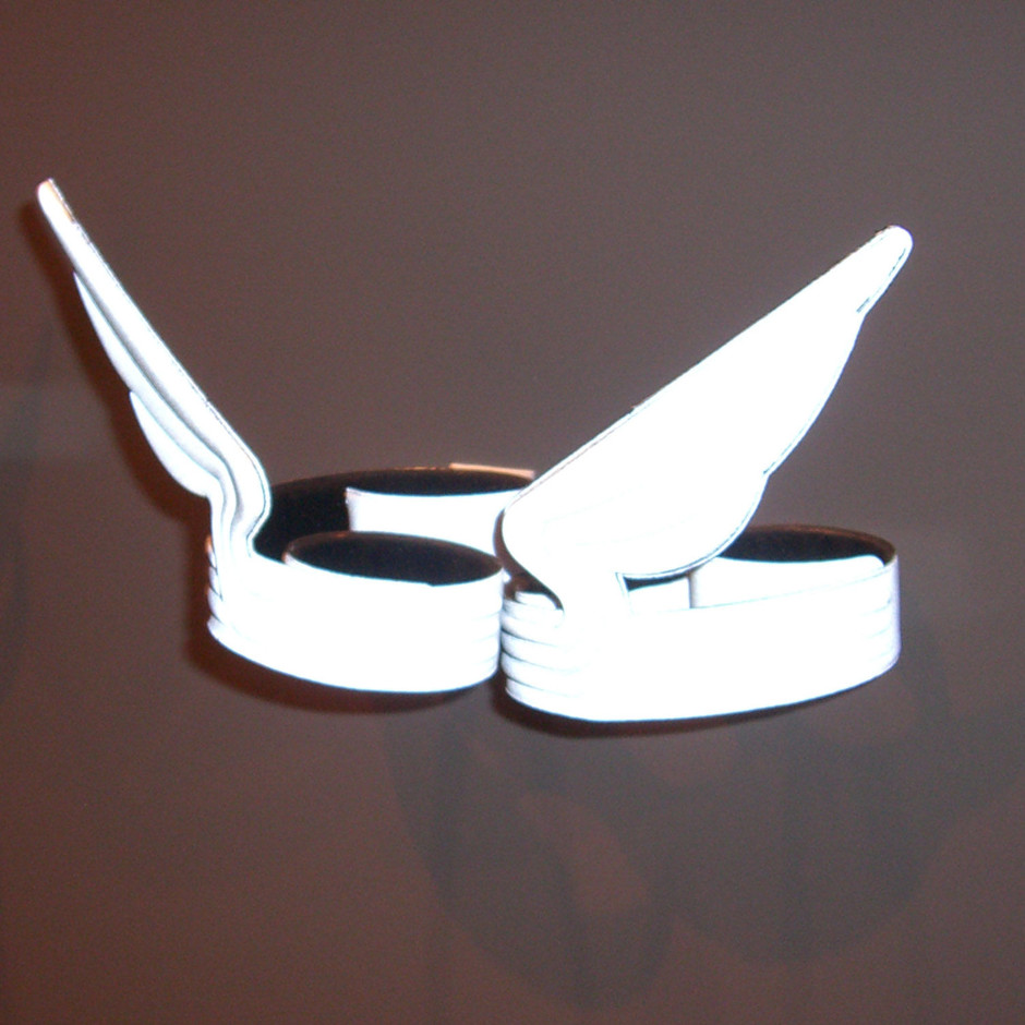 Windrider Bicycle clips Grey by Eno