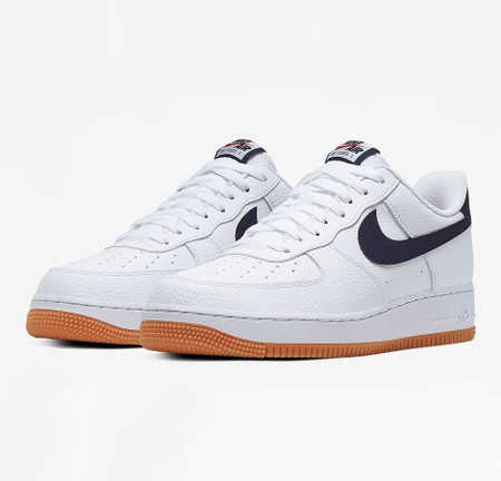 Air Force 1 Low - White/Navy/Gum