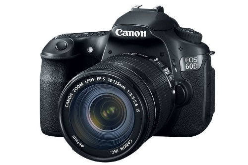 Amazon.com: Canon EOS 60D 18 MP CMOS Digital SLR Camera with 3.0-Inch LCD and 18-135mm f/3.5-5.6 IS UD Standard Zoom Lens: Camera & Photo