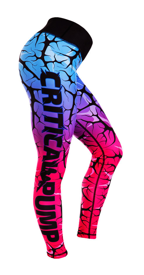 Cracked Dusk Leggings – Critical Pump