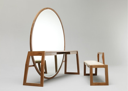 Mirror Table Bench