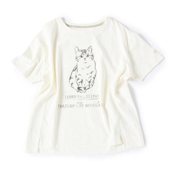 DS25-52622 サバ美プリントTシャツ   シーズンアイテム・Cat's Nap Time produced by Cat's ISSUE   キッチン・リビング雑貨・カタログギフト通販   アフタヌーンティー公式オンラインショップ