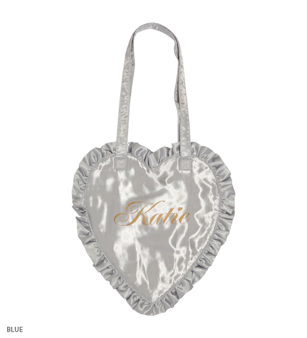FRILL heart tote - Katie Official Web Store