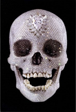 BOOKS by artist > H - Damien Hirst: For the Love of God: The Making of the Diamond Skull - Satellite サテライト | art books 現代アート書籍 | art goods 現代アートグッズ | art works 現代アート作品