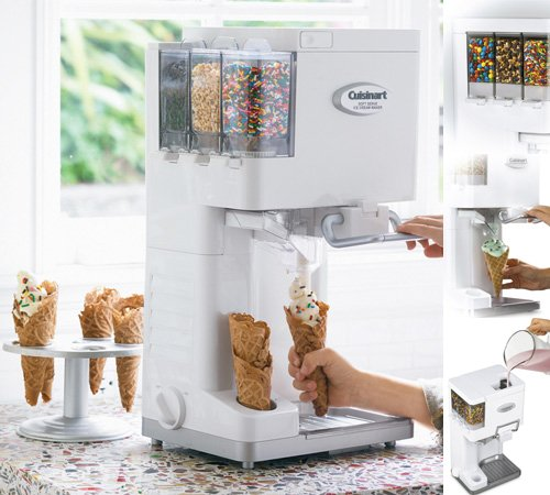 Amazon.co.jp: クイジナート ソフトクリームメーカー Cuisinart Ice-45 Mix It In Soft Serve Ice Cream Maker: ホーム&キッチン